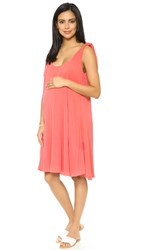 Hatch The Picnic Dress Coral