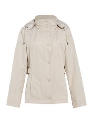 Cloud Nine Short Jacket With Packaway Hood White
