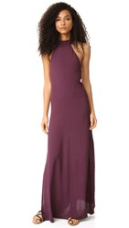 Flynn Skye Tyra Maxi Dress Mulberry