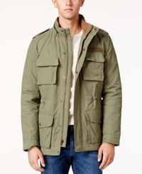 American Rag Men's Dennis Stand Collar Jacket Only At Macy's Dusty Olive