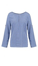 Esprit Blouse Blue Lavender Light Blue