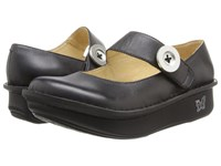Alegria Paloma Black Leather Women's Maryjane Shoes