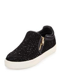 Ash Intense Bis Sequined Skate Sneaker Black