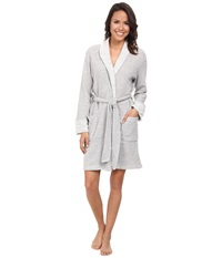 N By Natori N Natori Shawl Collar Wrap Heather Grey Women's Pajama Gray