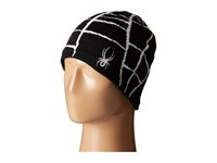 Spyder Web Hat Black White Beanies