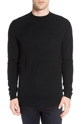 The Rail Men's Ribbed Military Crewneck Sweater