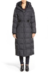 Women's Dkny 'Faith' Long Quilted Down And Feather Fill Coat