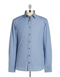 Pure Dotted Sportshirt Blue