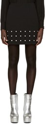 Versus Black Cut Out Miniskirt