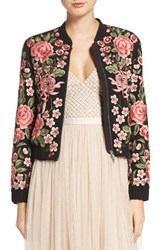 Needle And Thread Women's Embroidered Bomber Jacket
