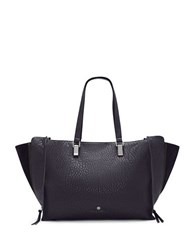 Vince Camuto Riley Large Leather Tote Peacoat