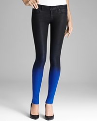 Frankie B Jeans Coated My Bff Legging In Royal Ombre