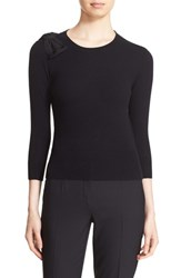 Ted Baker Women's London 'Callah' Bow Detail Crewneck Sweater