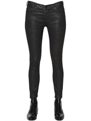 Diesel Black Gold 152 Coated Stretch Cotton Knit Jeans