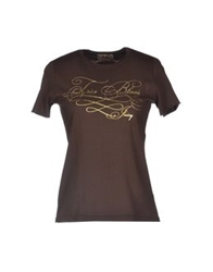 Juicy Couture T Shirts Dark Brown