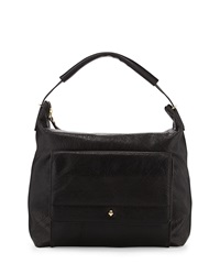 Etienne Aigner Daily Leather Hobo Bag Black
