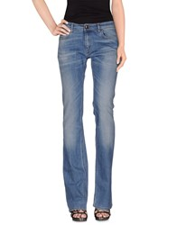 M.Grifoni Denim Denim Denim Trousers Women Blue