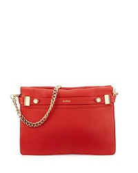Botkier Leroy Leather Clutch Bag Red