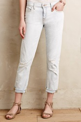 Pilcro Hyphen Relaxed Jeans Bleach Out Destroy