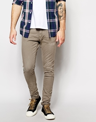 Pull And Bear Skinny Jeans Grey