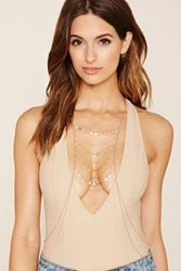 Forever 21 Layered Coin Charm Body Chain