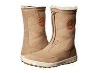 Lowa Dalarna Mid Light Brown Women's Cold Weather Boots Tan