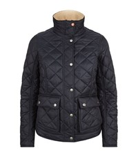 Barbour International Cushat Quilted Jacket Female Navy