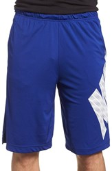 Men's Nike 'Fly Block' Dri Fit Training Shorts Deep Royal Blue White