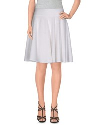 Mcollective Skirts Knee Length Skirts Women White