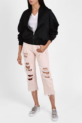 Alexander Wang Ripped Jeans Pink
