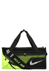 Nike Performance Vapor Sports Bag Black Volt Metallic Silver