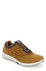 Ecco Men's 'Exceed' Leather Sneaker Dry Tobacco Leather