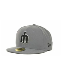 New Era Seattle Mariners Mlb Gray Bw 59Fifty Cap