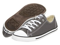 Converse Chuck Taylor All Star Dainty Ox Charcoal Women's Classic Shoes Gray
