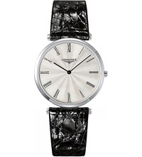 Longines L4.755.4.71.2 La Grande Classique Stainless Steel And Alligator Leather Watch