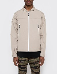 Creep By Hiroshi Awai Cordura Canvas Windbreaker Sand