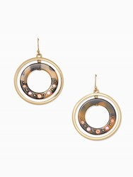 Kate Spade Out Of Her Shell Drop Earrings Tortoise Multi