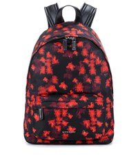 Givenchy Printed Backpack Red
