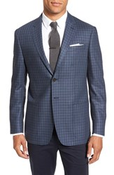 Todd Snyder Men's White Label Trim Fit Check Silk And Wool Sport Coat