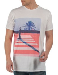 Bench Deluge Tee White