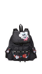 Le Sport Sac Disney X Lesportsac Voyager Backpack Hula Hibiscus
