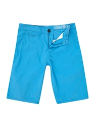 Blend Of America Canvas Shorts Turquoise