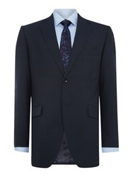 Howick Delaware Sb2 Suit Jacket With Notch Lapel Navy