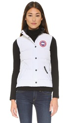 Canada Goose Freestyle Vest White