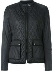 Belstaff Zipped Quilted Jacket Black