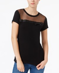 Maison Jules Bow Illusion Top Only At Macy's Deep Black