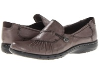Cobb Hill Paulette Grey Women's Slip On Dress Shoes Gray