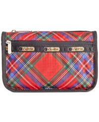 Le Sport Sac Lesportsac Boxed Travel Cosmetic Cozy Plaid Red