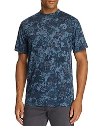 Sovereign Code Truf Botanical Print Tee Navy Flora