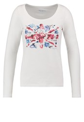 Pepe Jeans Long Sleeved Top White